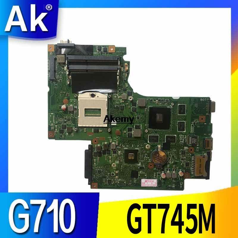 Original Fit For Lenovo Z710 G710 Laptop Motherboard DUMBO2 REV2.1 PGA947 DDR3 GT745M Mainboard 100% Fully Tested
