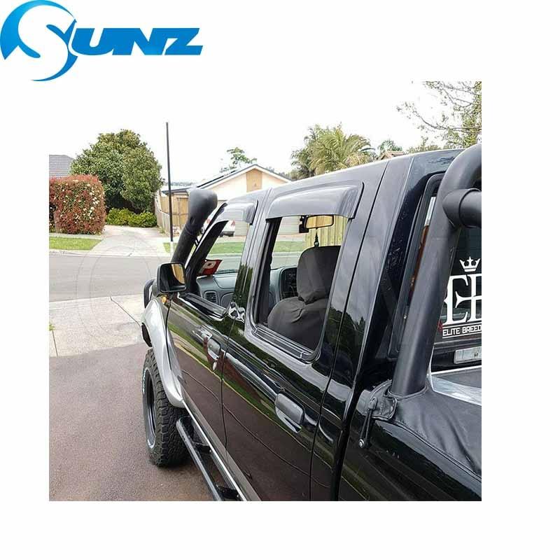 Voiture fenêtre pluie protecteur Pour NISSAN NAVARA D22 2002 2003 2004 2005 2006 2007 2008 2009 2010 2011 2012 2013 voiture accessoires SUNZ - 5