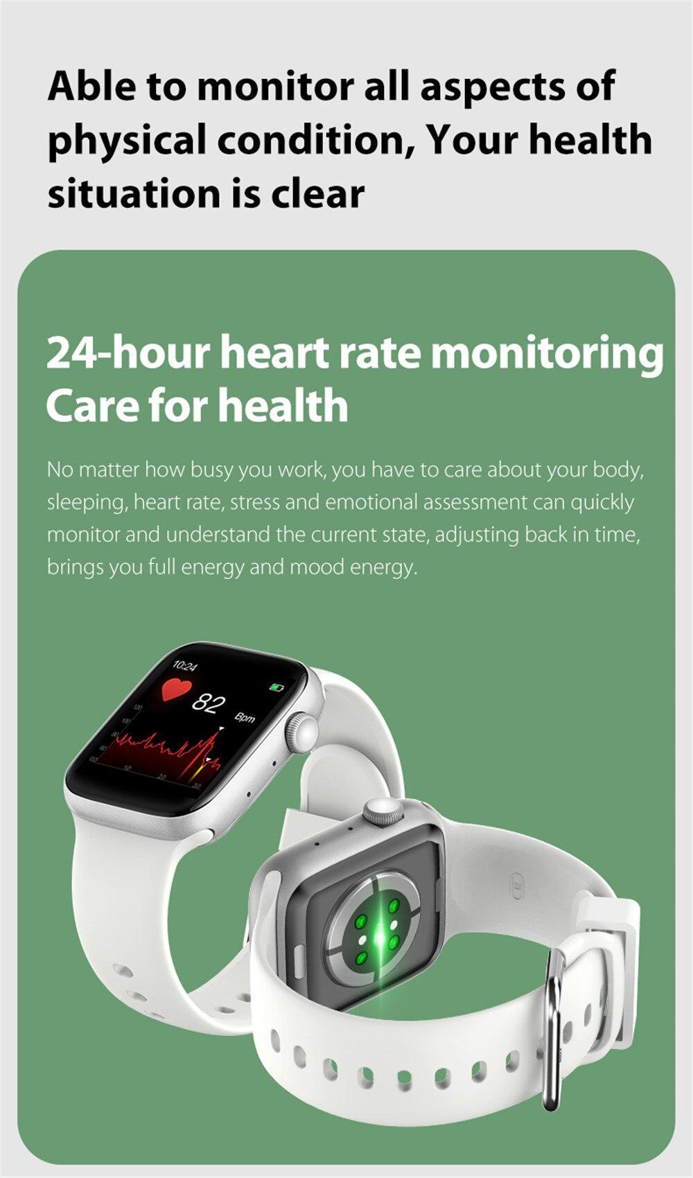 Hf8929111a7b0494bb0ca281c23ee7548n Smart Watch Men Smartwatch Women Dial Call Watch Waterproof Fitness Tracker Music Control 2021 For Iphone Xiaomi Huawei IWO+gift