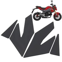 Motorcycle Protector Anti slip Tank Pad Sticker Gas Knee Grip Traction Side 3M Decal For Honda GROM MSX125SF MSX125