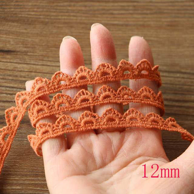 Embroidery Lace Fabrics Curtains 6