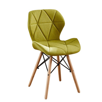 Real Wood Chair American Contemporary And Contracted Household Leisure Chair Stool European Nordic Chair