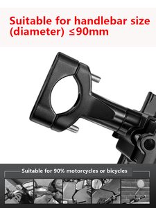 Image 4 - Motocykl rower telefon komórkowy wspornik ze stopu aluminium dla SUZUKI M109r M50 Marauder Vz800 Vl800 Volusia Vz800 Spepia Zz b king