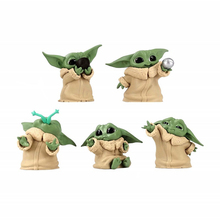 Disney Yoda dziecko Mandalorian dziecko Yoda figurka zabawka dla dzieci Mini Yoda dziecko rysunek zabawki akcji Hot Movie Star Wars Yoda prezent tanie tanio Model CN (pochodzenie) Unisex 12 cm Keep Away Fire as shows Remastered version 2-4 lat 5-7 lat 8-11 lat 12-15 lat Dorośli