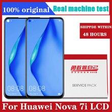 Oryginalny wyświetlacz 6.4 z ramką do ekranu dotykowego Huawei Nova 7i LCD z ekranem dotykowym do ekranu LCD Nova 7i