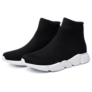 Image 3 - גרבי נעלי ספורט ריצה נעלי גברים עבור מותג חדר כושר ספורט מאמני גדול גודל Zapatillas Hombre Deportiva Chaussure Homme 46 47