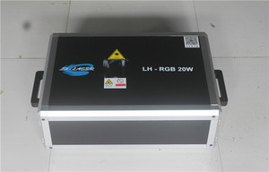 Image 2 - Free Shipping ILDA+SD Card 20W mulit color RGB Disco Laser Light ilda mini stage lighting projector