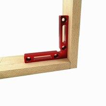2 шт. 90 градусов Алюминиевый квадратный прямоугольный l-образный вспомогательное крепление позиционная панель фиксирующий Зажим деревообрабатывающие столярные инструменты