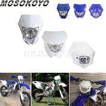 Faro de motocrós de 12v/35w, Supermoto, para YAMAHA YZ YZF WR WRF TTR 125 250 400 450 426 YZ250F WR450F WR250X