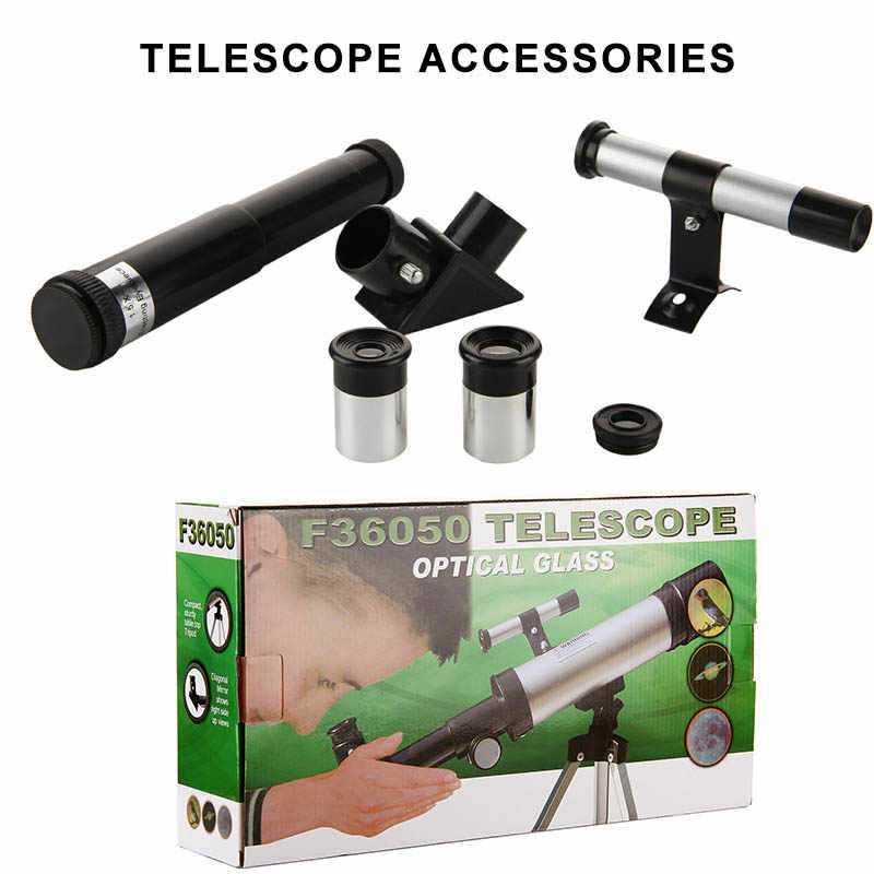 Professionnel HD lune observation télescope astronomique 90X réfraction espace basse Vision nocturne Portable Zoom pour enfants adultes cadeaux