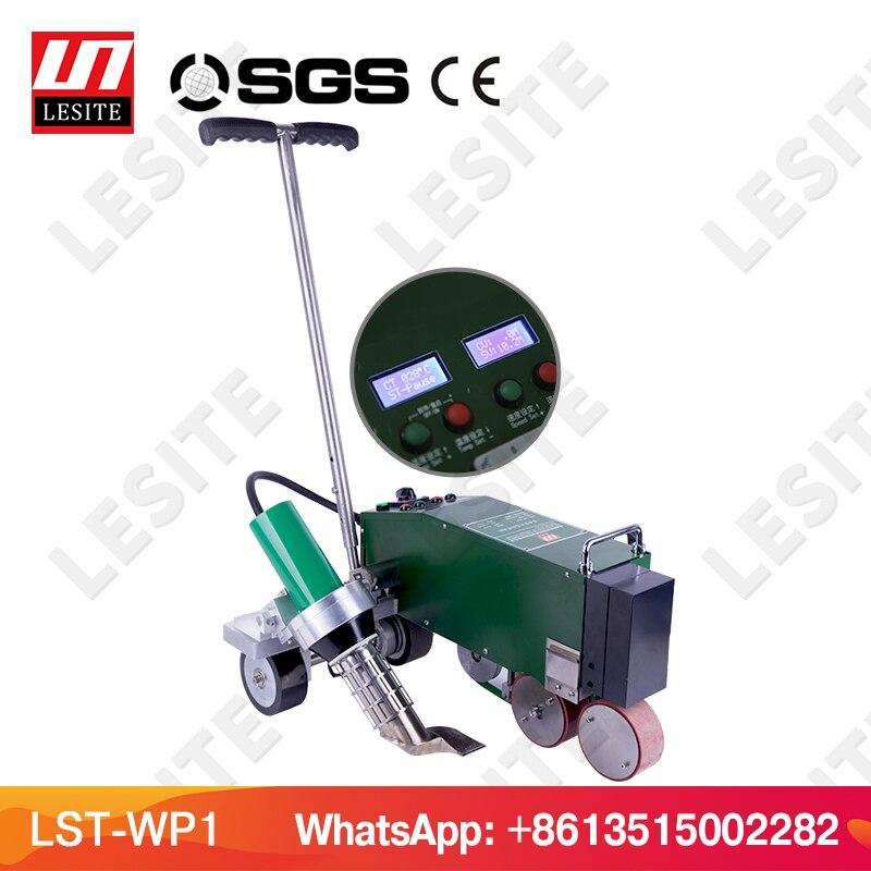 Soldador de membrana de techado PVC máquina de soldadura de membrana impermeabilizadora TPO techado máquina de soldadura de membrana LESITE LST-WP1