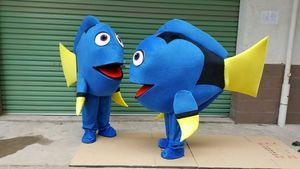 Fish Mascot Costume for Halloween Cosplay and Mall Opening Advertisement Fancy Carnival Party Outfits Adults Size for Unisex