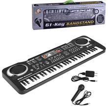 Kids Multifunction 61 Keys Electronic Organ Musical Teaching Keyboard Toy Piano