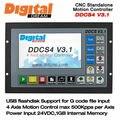 4-осевой контроллер движения  автономный CNC 500 кГц ЧПУ автономное управление DDCS V3.1