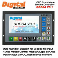 4 Axis Motion Controller Offline CNC 500KHz CNC Standalone Control DDCS V3.1