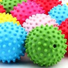 12st Sinneskugeln Baby-Druck entspannen sich Massage Squeeze Bouncing Gummispielzeuge für Kinder spielen Kleinkinder Baby-Entwicklung