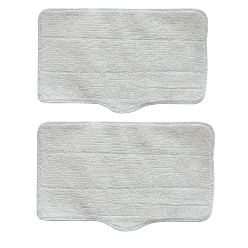 2 Pcs Cleaning Mop Cloths Replacement for Deerma ZQ610 ZQ600 ZQ100 Steam Engine Home Appliance Parts Accessories