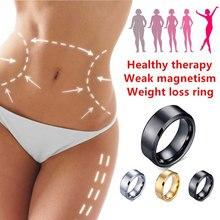 Магнитное медицинское магнитное кольцо для похудения, инструменты для похудения, фитнес-кольцо для уменьшения веса, стимулирующее акупунктурное кольцо с желчным камнем