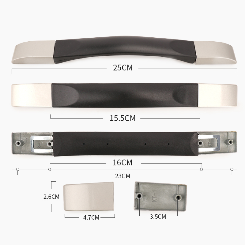 Luggage handle grip used for luggage equipment spare fixed bracket pull belt for carrying grip luggage replacement handle in Bag Parts Accessories from Luggage Bags