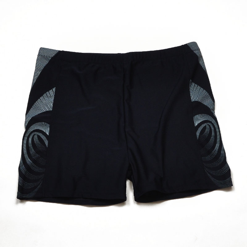 Fashion Large Size Swimming Trunks Men's Plus-sized MEN'S Swimming Trunks Boxer Hot Springs Loose And Comfortable 250 Short Quic
