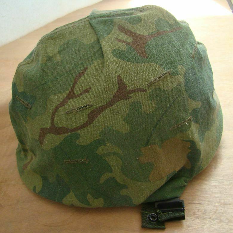 Army Mitchell Camo Vietnam Helmet 1//6 Scale U.S