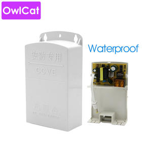 Ac-Dc-Adapter Cctv-Power-Supply White Outdoor 12v 2.5a To Waterproof 100-240V Owlcat