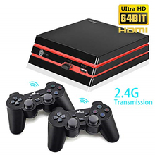 Video Game Console With 2.4G Wireless Controller HDMI Video Game Console 600 Classic Games For GBA Family TV Retro Game Console hdmi retro game console preloaded 600 classic games