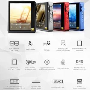 Image 2 - Hidizs AP80 PRO double ESS9218P Bluetooth lecteur de musique Portable MP3 USB DAC hi res Audio DSD64/128 apt x/LDAC compteur de pas FM
