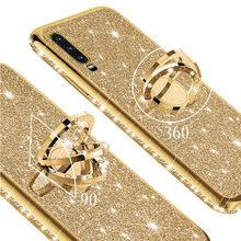 Diamante Bling caso de teléfono para Samsung Galaxy A70 A50 70 50 A7 2018 A750 A50Case SamsungA70S A70Case A51 A71 5G 4G