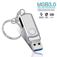 Chiavetta USB 3.0 chiavetta usb da 32 gb chiavetta usb da 128gb in metallo pen drive 4 GB 8GB 16 gb pendrive 64 gb LOGO personalizzato gratuito per affari