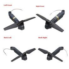 цена на Professional Easy To Install E58 WIFI FPV RC Quadcopter Axis Arm Spare Parts with Motor & Propeller Supplies