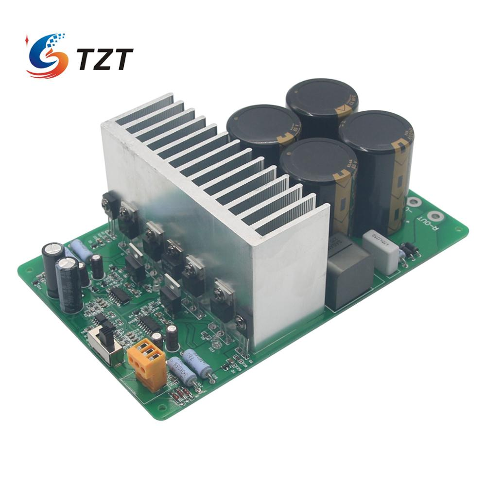 TZT Top Iraud2000 Class D Amplifier Finished Board 2000W Irs2092s IRFB4227 Digital Amplifier Board w/ ELNA 10000uF80V Capacitor image