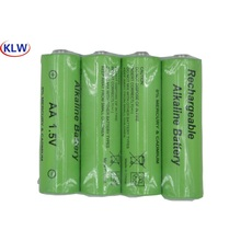 High Energy Efficiency and Low Self Discharge  1.5V   LR6  AA Rechargeable Alkaline Battery  for  Toy Camera  Shavermice