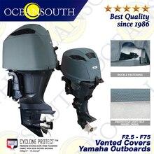 Вентилируемые Чехлы для лодок, для YamahaMotor, профессиональные морские аксессуары для лодок и лодок, УФ-защита, 2,5-75 л. С.