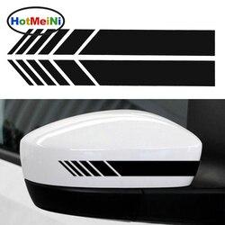 HotMeiNi 2 шт. автомобильный Стайлинг авто внедорожник виниловая графическая Автомобильная наклейка зеркало заднего вида боковая наклейка пол...