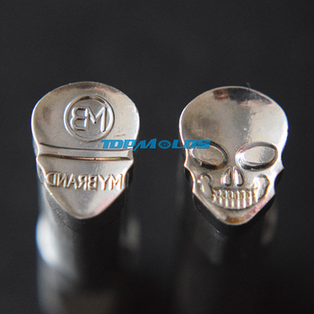 3D  SKULL  Tablet Die 3D Pill Press Mold Candy Punching Die Custom Logo Calcium Tablet Punch Die