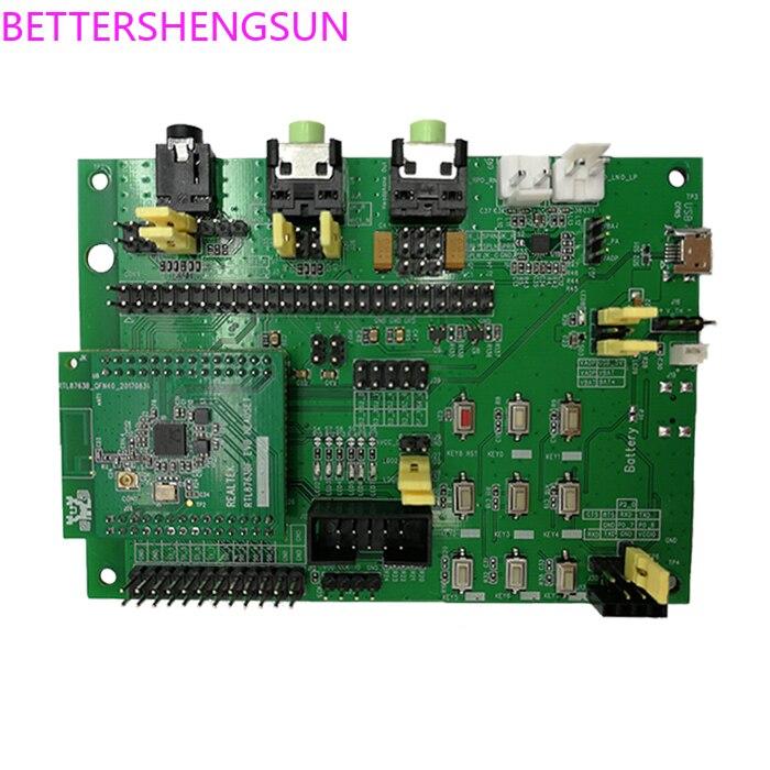 RTK8763B RTL8763BFR Core Module Low Power Bluetooth 2.0 4.0 5.0 Evaluation Development Board
