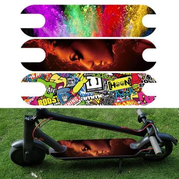 DIY Scooter Pedal Stickers Decal For Xiaomi M365 Electric Waterproof Footboard Tape Sandpaper PVC Skateboard Sticker