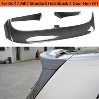 carbon fiber rear roof For Volkswagen VW Golf 7 VII MK7 carbon fiber rear roof trunk spoiler wing 2014~2016 (not for GTI and R)