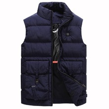 Heated Jackets USB Infrared Heating Vest Jackets Winter Flexible Usb Thermal Clothing coat For Sports Hiking Men Women Outdoor недорого