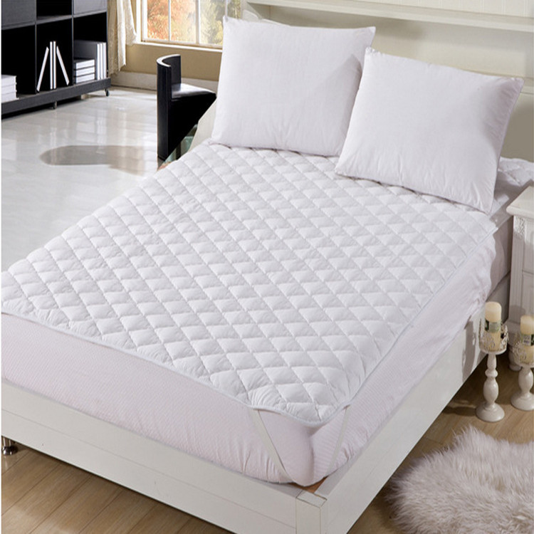 Spring Polyester Cotton Breathable Sheet For Mattresses And Four-corner Tendon Mattress With Headboard Cover 200cm Length