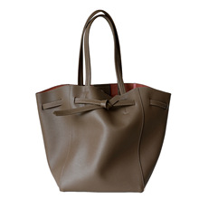 Newest Genuine Leather Shoulder Bags For Women Luxury Designer Ladies Draw-string Handbags Female Casual Totes Large Capacity