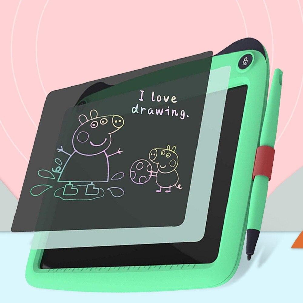 "TISHRIC 9"" 9 Inch Writing Tablet Kids Drawing Board Digital LCD Graphics Tablet Handwriting Pad Bulletin Erase Educational Toys"