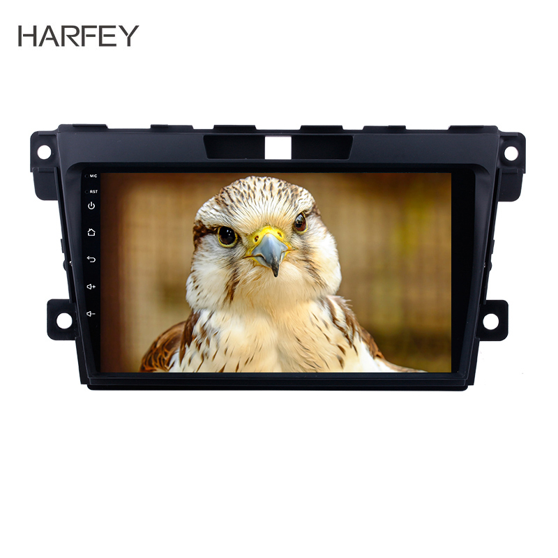 Harfey <font><b>2din</b></font> Multimedia Navigation Car Stereo for 2007-2014 <font><b>MAZDA</b></font> <font><b>CX</b></font>-<font><b>7</b></font> 9