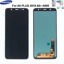 60 ''ЖК дисплей для samsung galaxy a6 плюс 2018 a605