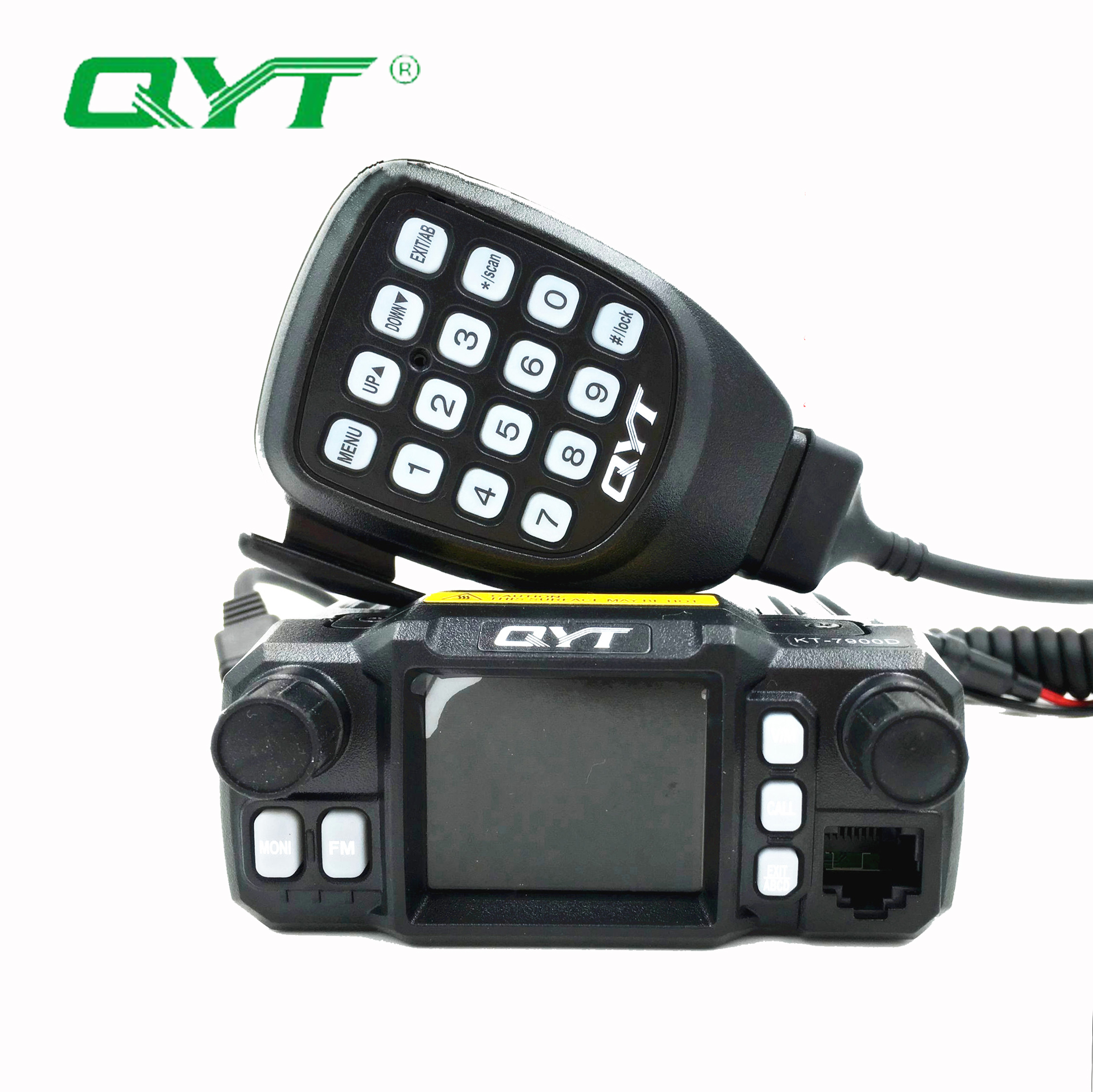 QYT KT-<font><b>7900D</b></font> Walkie Talkie 25W 144/220/350/440MHZ Quad Band Mobile Radio Car Mobile Radio Suitable for Baofeng UV-82 UV-5R UV-82 image