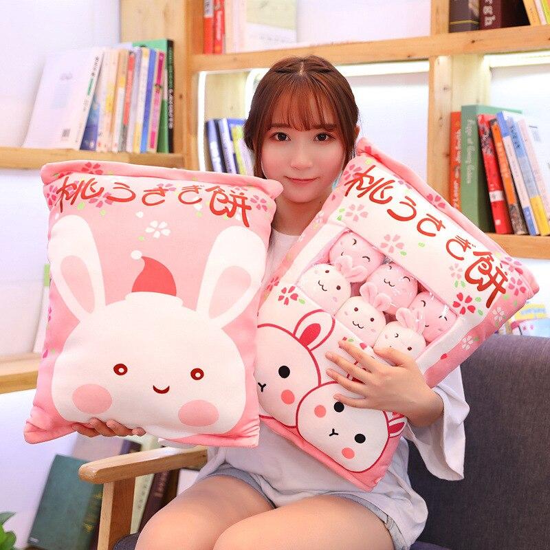 porco cão recheado criativo boneca sofá travesseiro namorada crianças presente