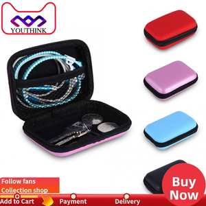 Storage-Bag Earphone Protective-Organizer Usb-Cable-Case for Box EVA Hard Waterproof