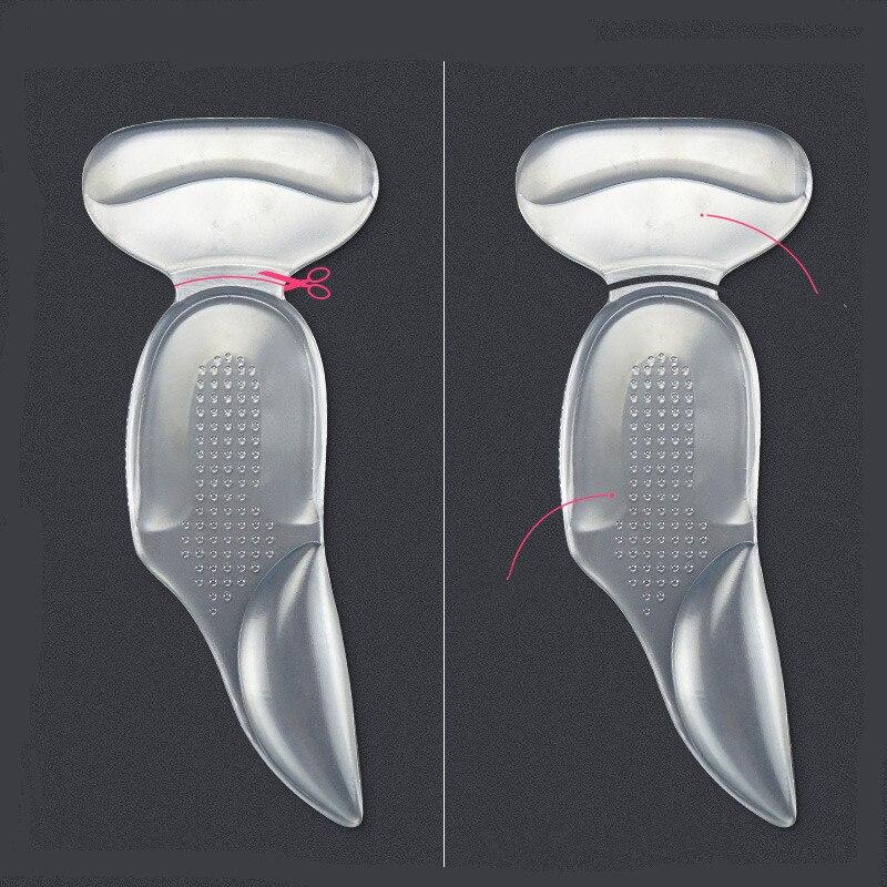 Купить ортопедические стельки силиконовые мягкой вставкой вкладыш для