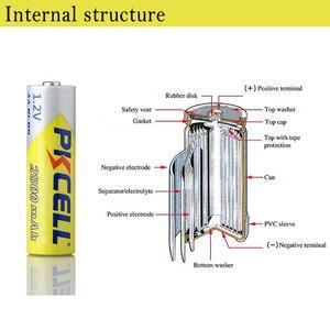 Image 5 - PKCELL Ni MH AA pil 2600mAh 2800mAh 1.2V NiMh şarj edilebilir pil 2A Batteria hücre el feneri kamera oyuncaklar